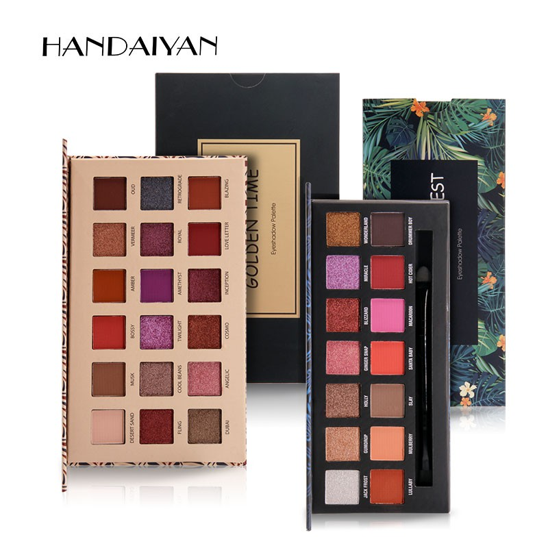 Eye Shadow Faithful Ucanbe Brand New Nude Eyeshadow Palette 18 Colors Glitter Matte Shimmer Shades Rosy Pink Eye Shadow Waterproof Beauty Makeup Kit