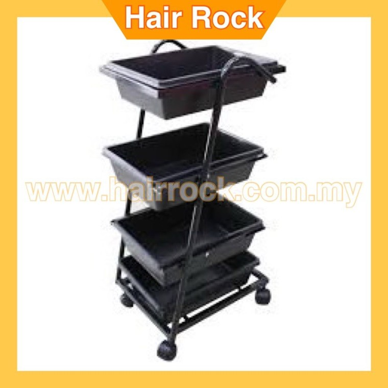 SALON TROLLEY 216 (4 TRAY)