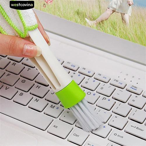 Car Air Conditioner Outlet Vent Window Keyboard Blind Groove Dirt Cleaning Brush