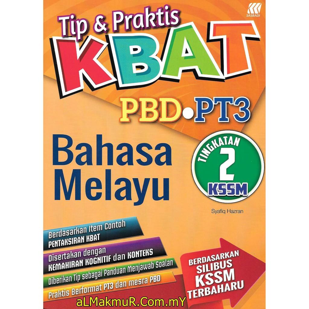 Myb Buku Latihan Tip Praktis Kbat Pt3 Tingkatan 2 Bahasa Melayu Sasbadi Shopee Malaysia