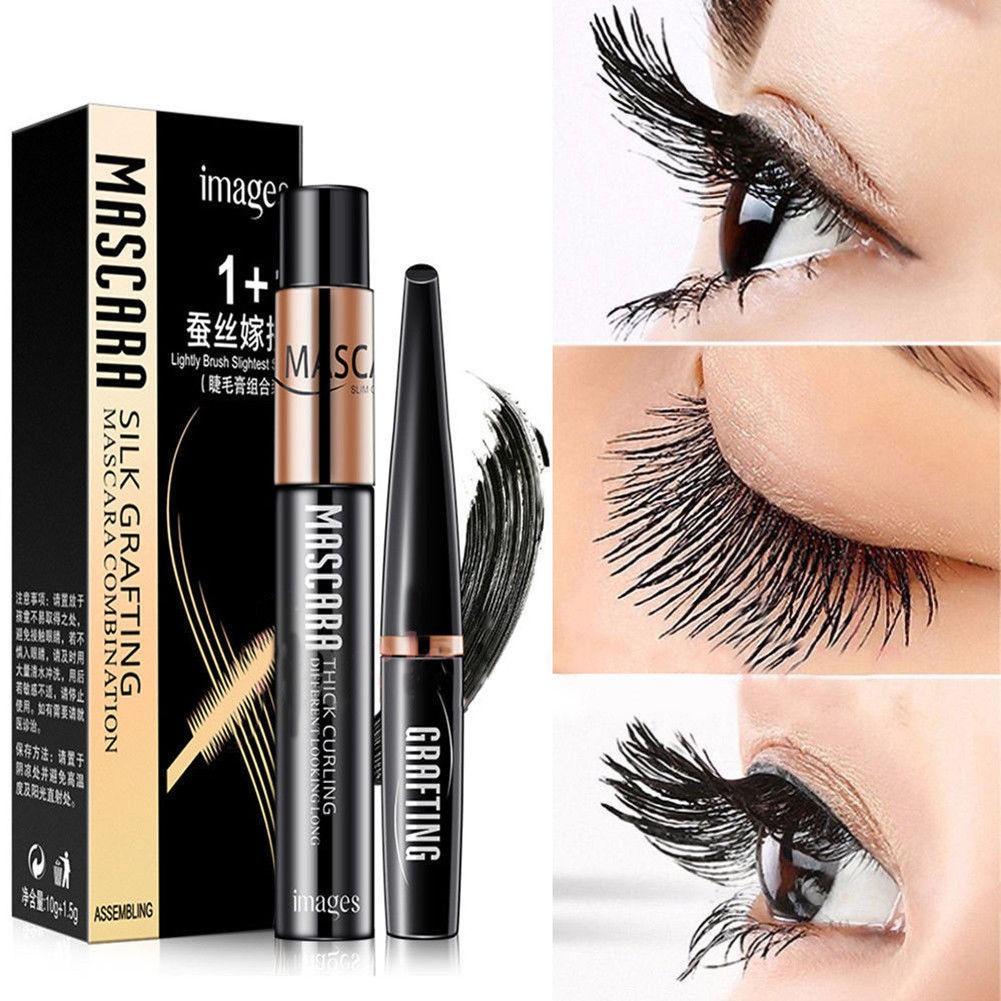 cb72476c279 2pcs/lot DDK 4D Silk Fiber Lash Mascara Eyelashes Long Extension Waterproof  | Shopee Malaysia