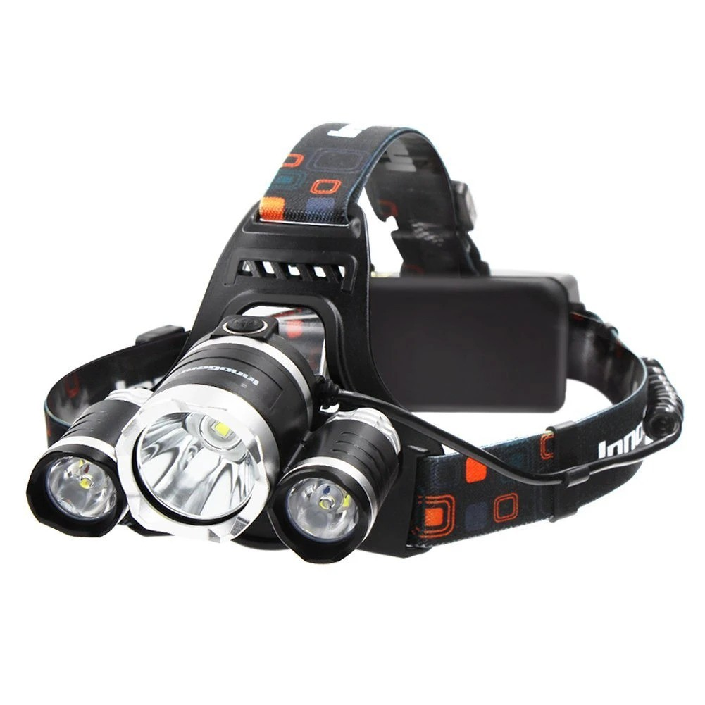 4 Mode Rechargeable T6 LED Headlamp Headlight Waterproof Torch Light Flashlight