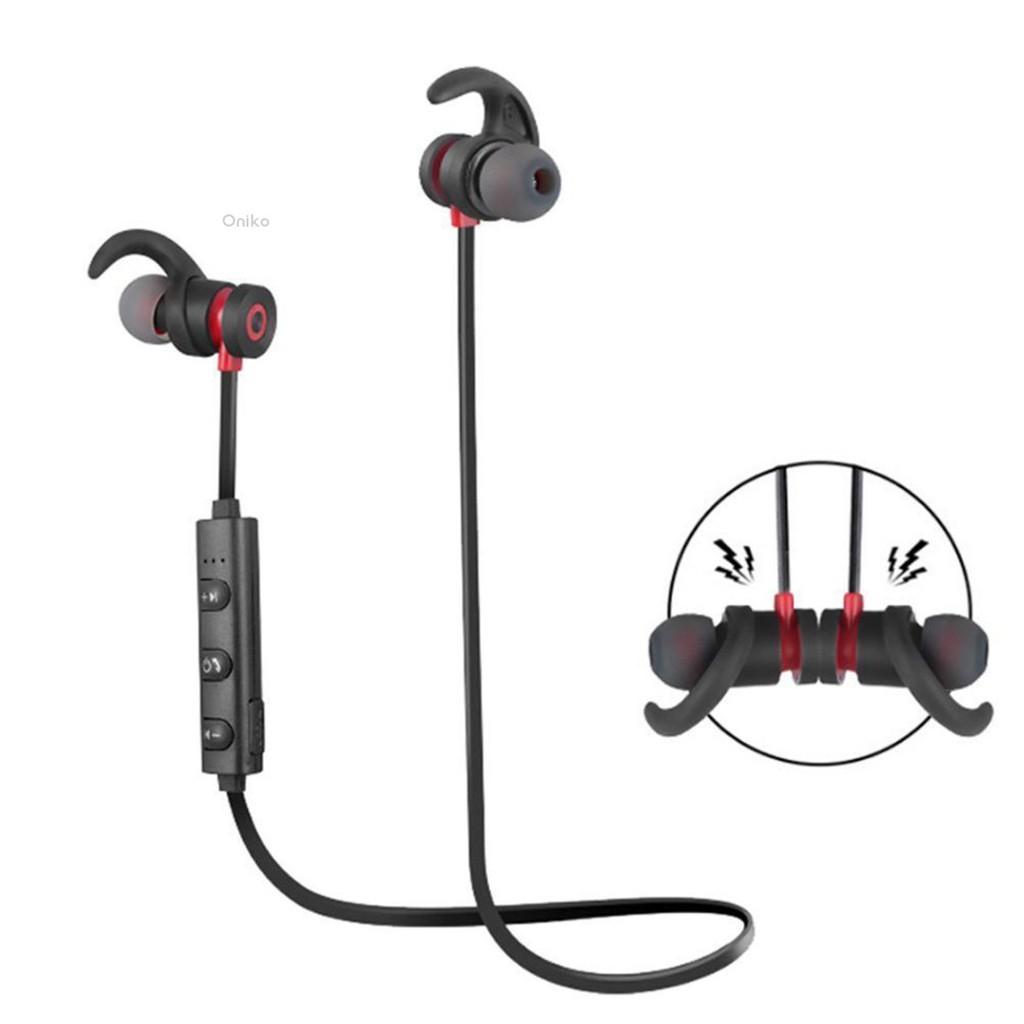 b23ac76496b ProductImage. ProductImage. 💗Oniko💗Wireless Bluetooth 4.1 Earphone Headset  Magnetic Sport Stereo Headphone