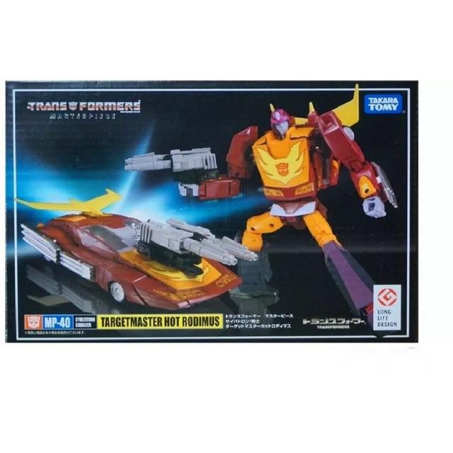 Transformers - Takara Tomy (OEM) - Targetmaster Hot Rodimus MP40 (Master  Piece series)