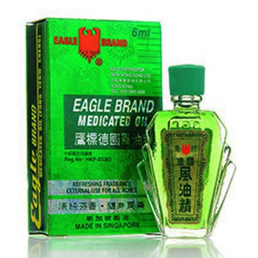 Eagle Brand Refreshing Fragrance Medicated Oil 6ml