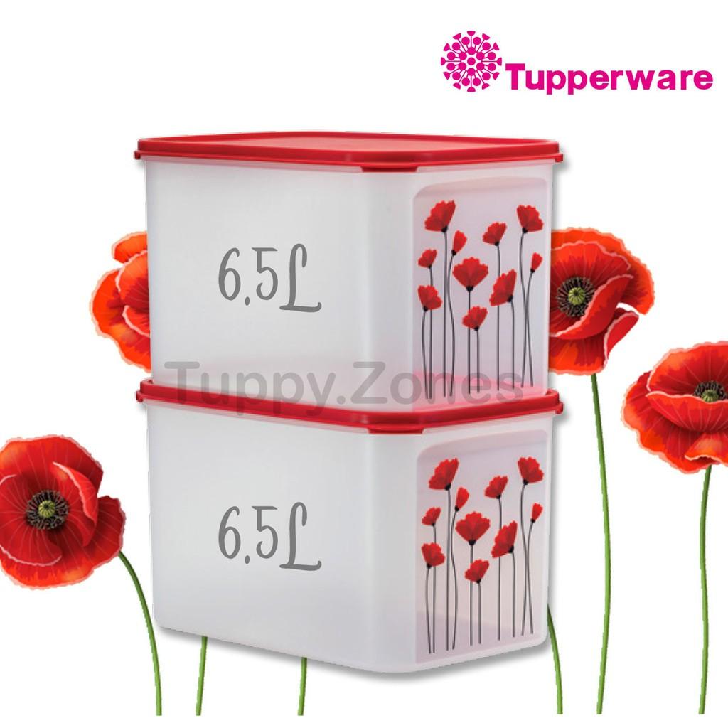 Tupperware Red Poppy ModularMates 6.5L (1Pcs)