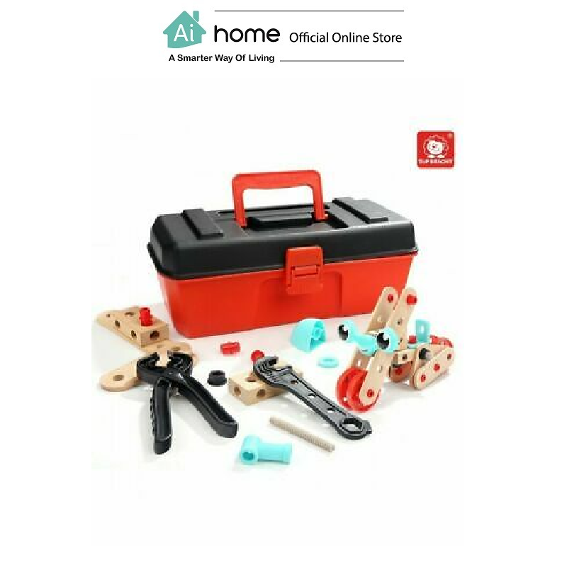 TOPBRIGHT Pretend Play Builder Construction Toys (53pcs) [ Ai Home ]