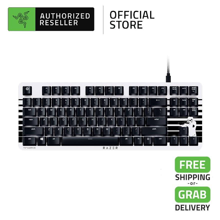 Razer BlackWidow Lite Stormtrooper Silent and Compact Keyboard