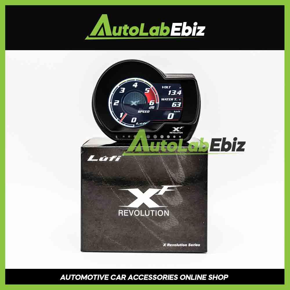 LUFI XF Revolution OBD2 Digital Meter Display (English Version-International)