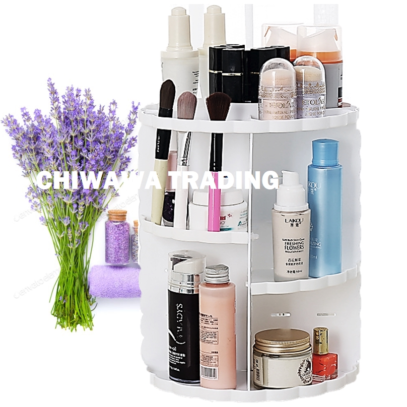 3 Layers Cosmetic & Jewellery Organizer Storage Makeup Box Display Rack 2