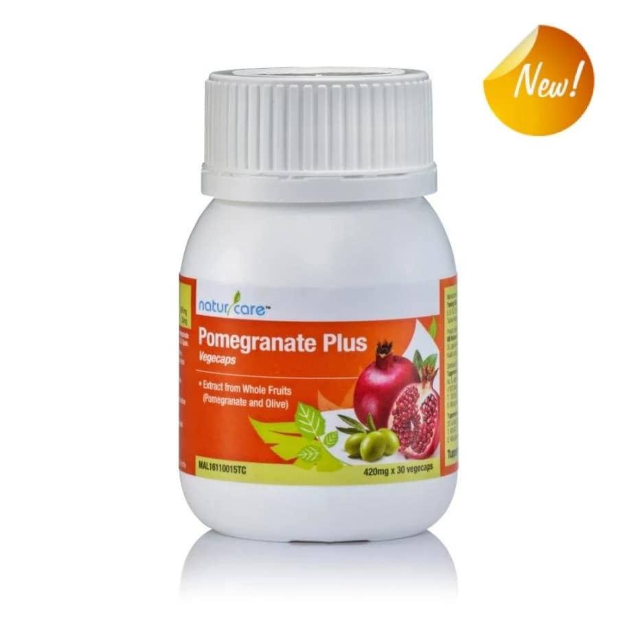 NaturCare Pomegranate Plus Olive (1) 30 Vcaps