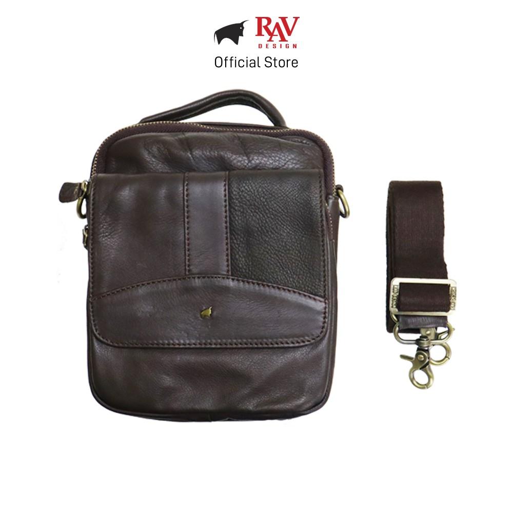 RAV DESIGN Men's Genuine Leather Sling Bag Series |YRC048