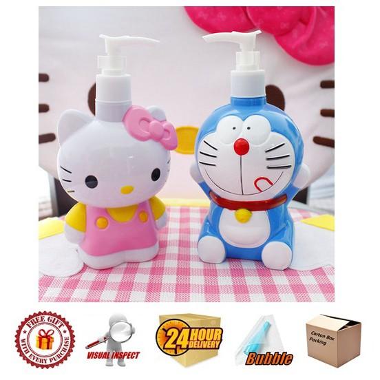 Hello Kitty Bottle, Shampoo Bottle, 3D Plastic Figure Design