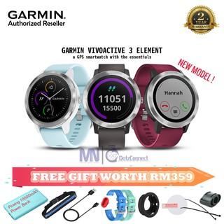 New Original Garmin Vivoactive 3 Music Element GPS Sport Smart Watch