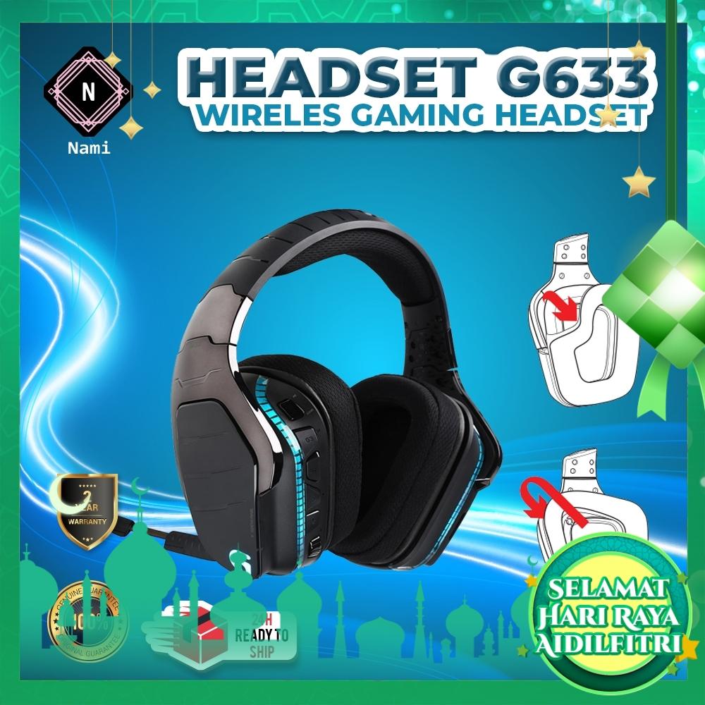 Logitech G633 Artemis Spectrum RGB Wired 7.1 Surround Sound Gaming Headset