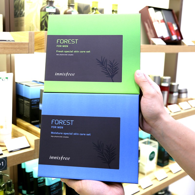 Korea Innisfree Forest Men's Skin Care Kit