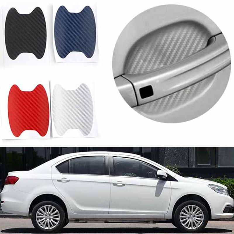 Ship Today!Carbon Fiber For Subaru WRX 4th STI Exterior Door Bowl Cover Trim