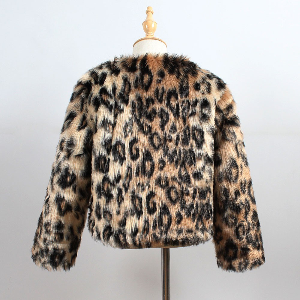 NEW Kid Baby Girls Autumn Winter Faux Fur Coat Jacket Thick Warm Outwear Clothes