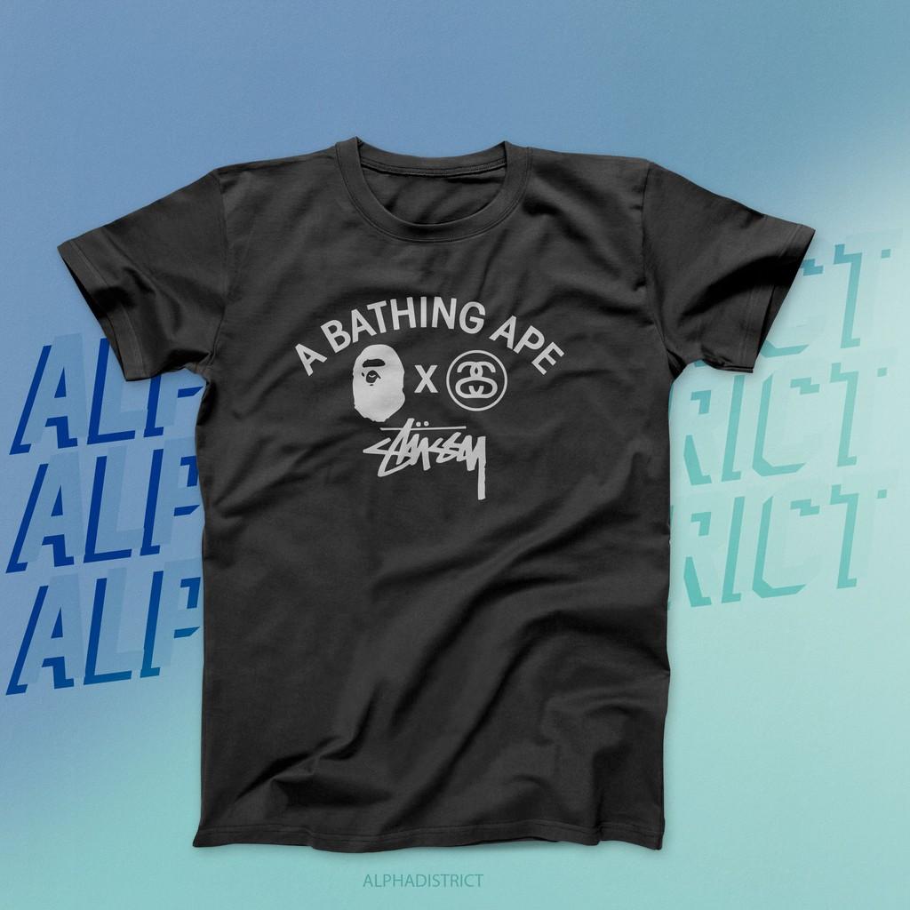 1eb5a8732615 Authentic MMJ x BAPE T-Shirt | Shopee Malaysia