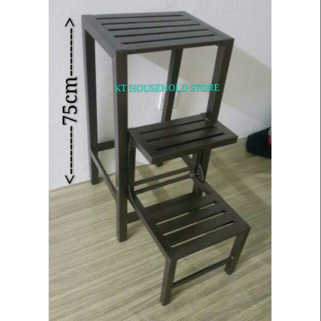 Sensational 3V 3 Tier Foldable Step Stool Ladder Stool Chair Kerusi Bertangga W1 Inzonedesignstudio Interior Chair Design Inzonedesignstudiocom