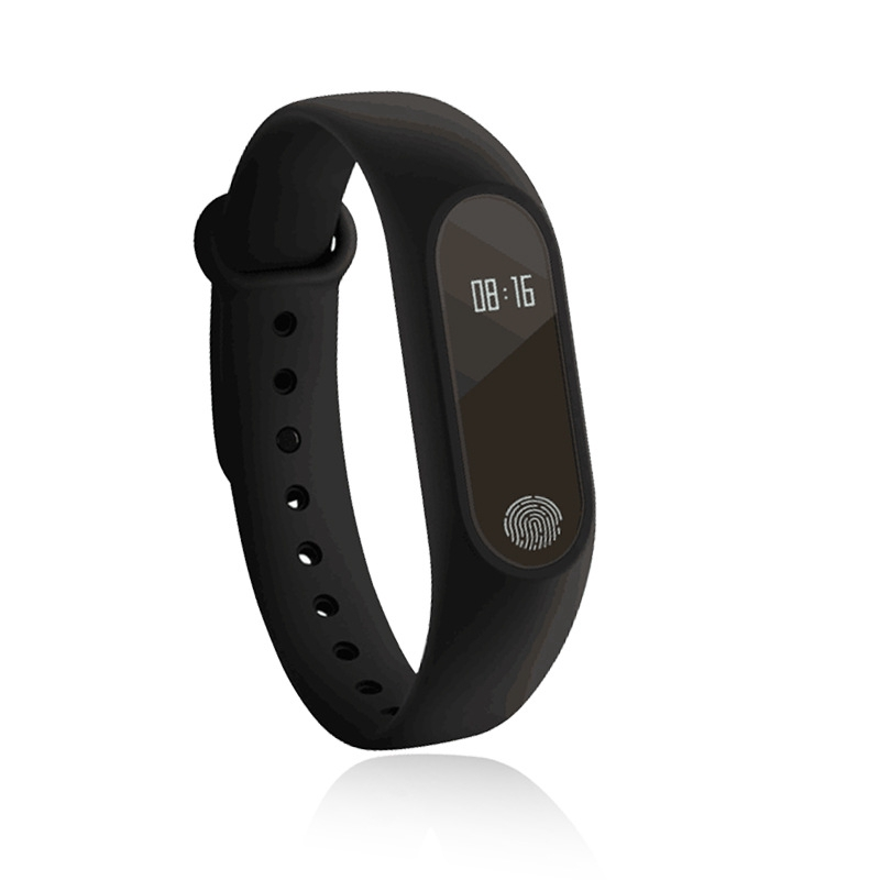 Free Shiping M2 Watch Heart Rate Anti-lost Reminder Bluetooth Sport Smart