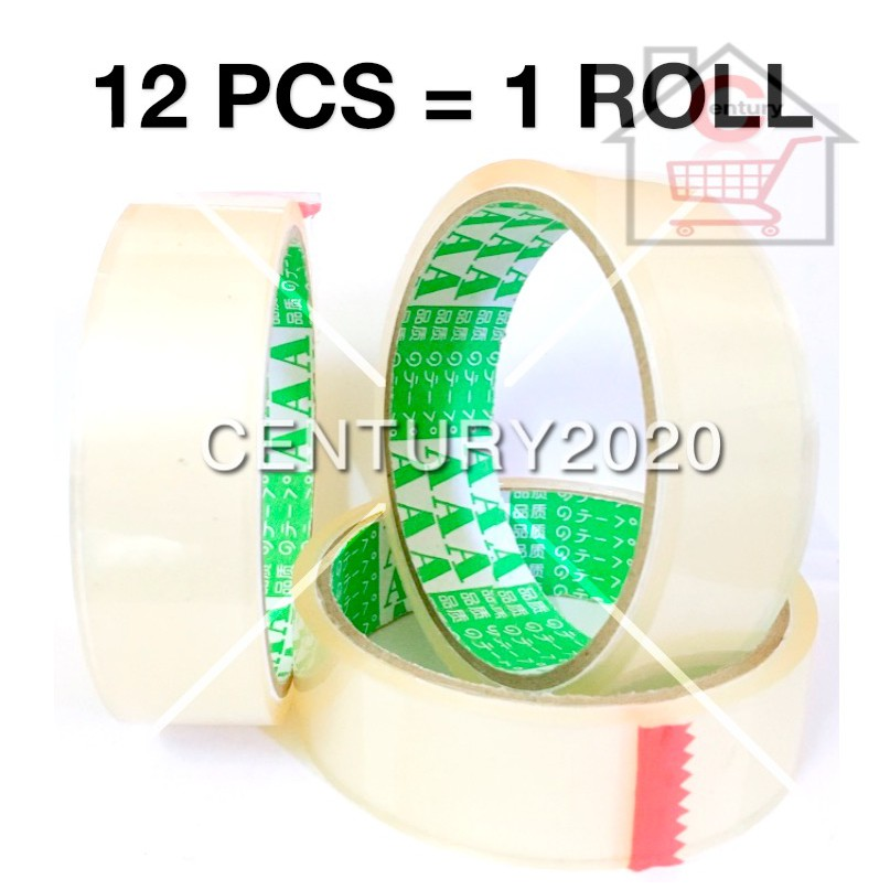 AAA OPP Tape Transparent Adhesive Packaging Tape 24mm