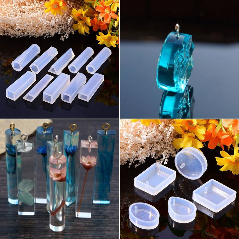 1* Silicone Mold Egg Mold Epoxy Resin Crafts DIY Jewelry Making Home Ornaments