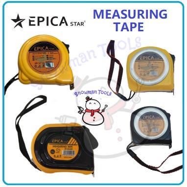 MEASURING TAPE EPICA STAR BRAND MEASURING STEEL RULER MEASURE PITA PENGUKUR PANJANG UKURAN UNTUK DIY MEASURING RULER
