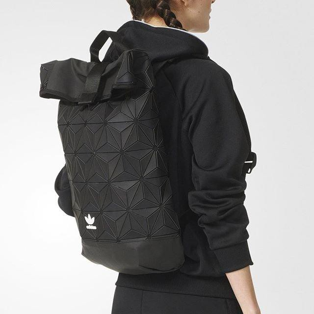 63a48daab5 Limited Edition Adidas x Issey Miyake 3D Urban Mesh Roll Up Backpack Bag Men Her