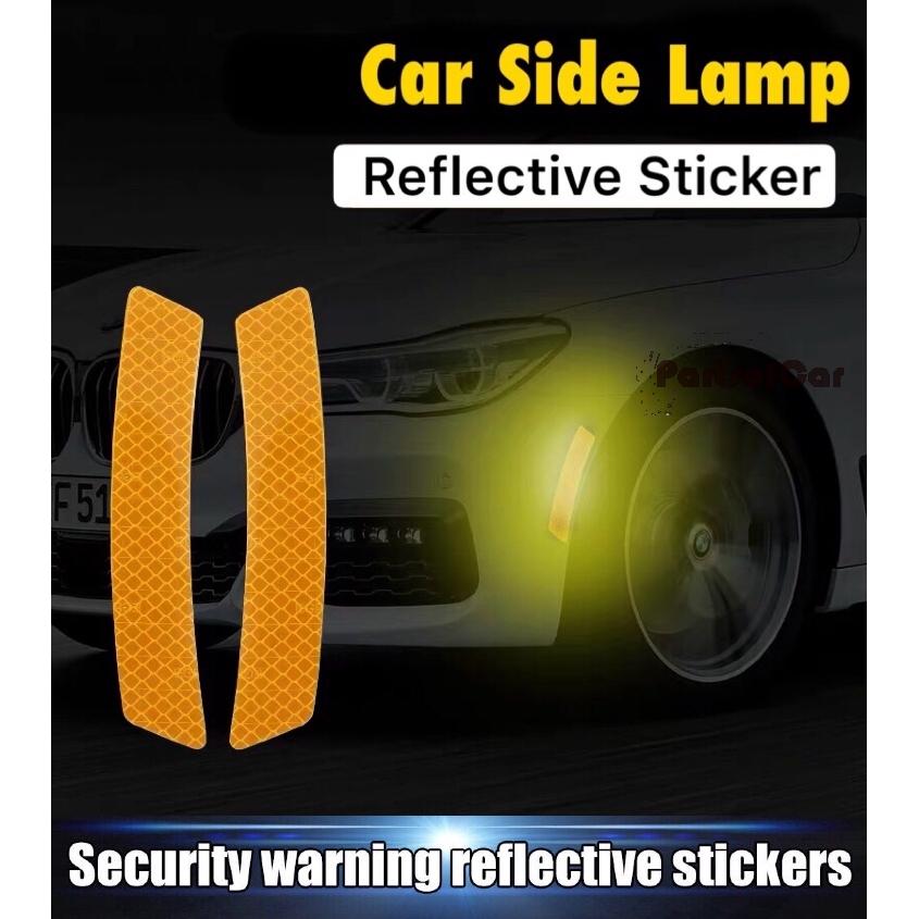 Luminous  Car Reflective Strip Rear Bumper Tail Safety Warning Stickers