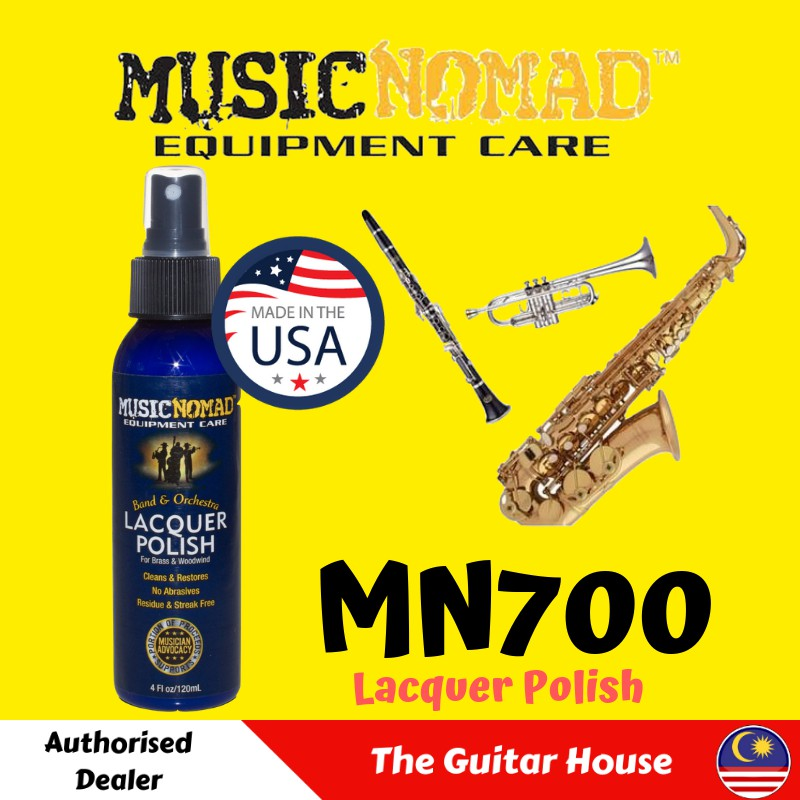 Music Nomad  MN700 Lacquer Polish for Brass /& Woodwind