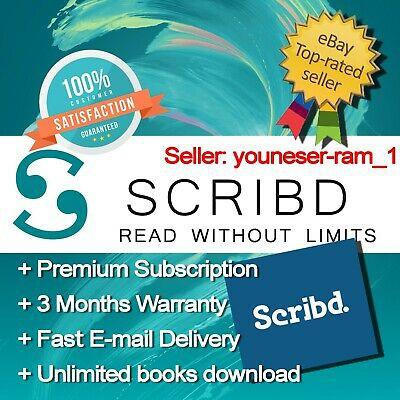 Scribd Account Unlimited books Subscription Scribd Premium