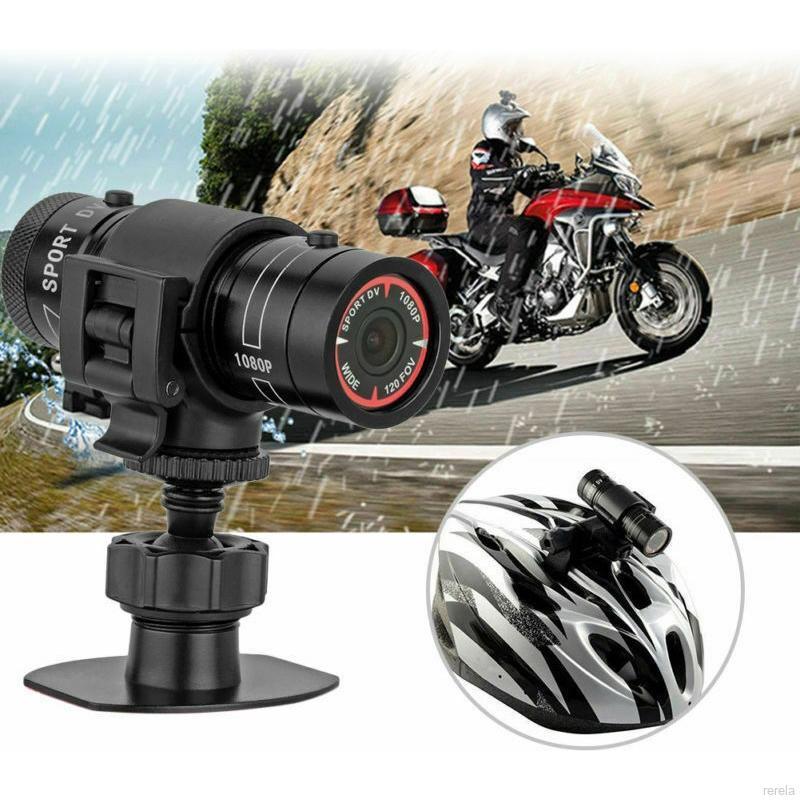 1080P HD Motor Bike Cycle Helmet Waterproof Sports Action Camera Video Recorder Set
