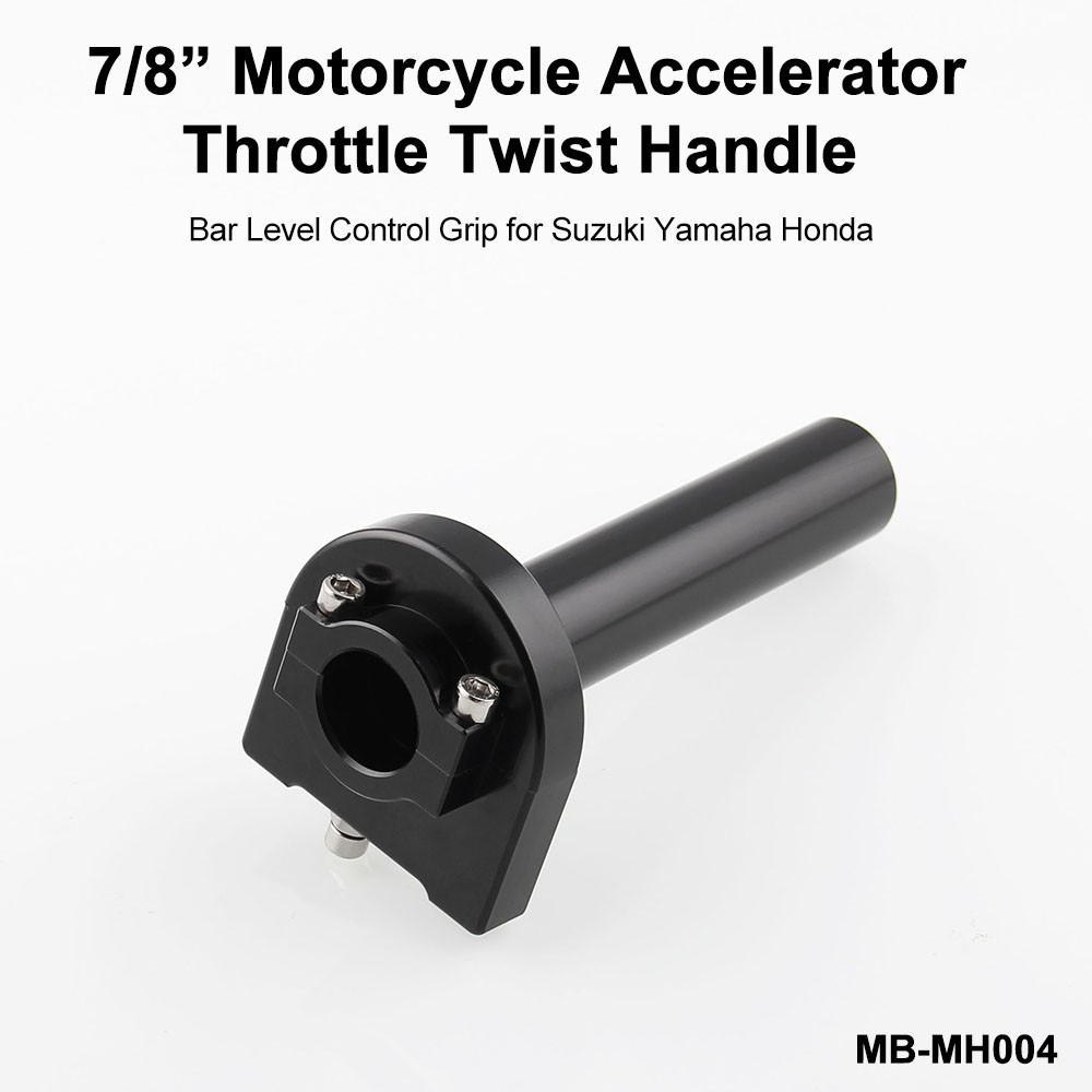 "Grips for Yamaha Sport MX Bike Motorcycle 7//8/"" Handle bar Quick Twist Throttle"