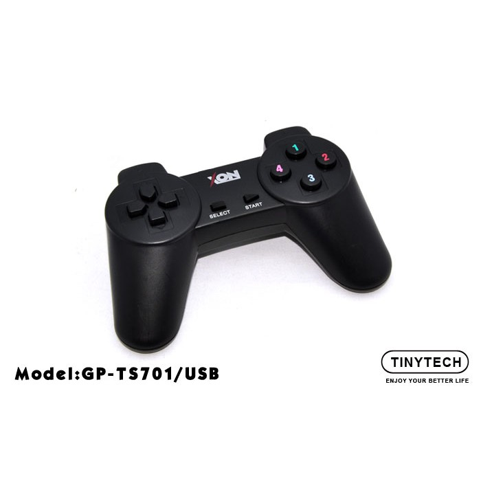 XON USB 2 0 SINGLE GAMEPAD JOYSTICK CONTROLLER WITHOUT VIBRATE (TS701)