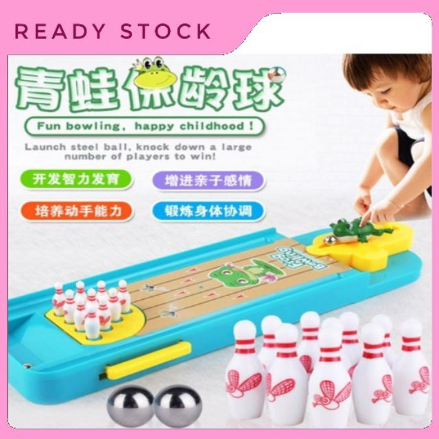 Frog Bowling Table Game