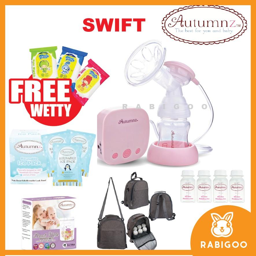 Autumnz Swift Single Breastpump Extra Free Gift  Shopee Malaysia-5172