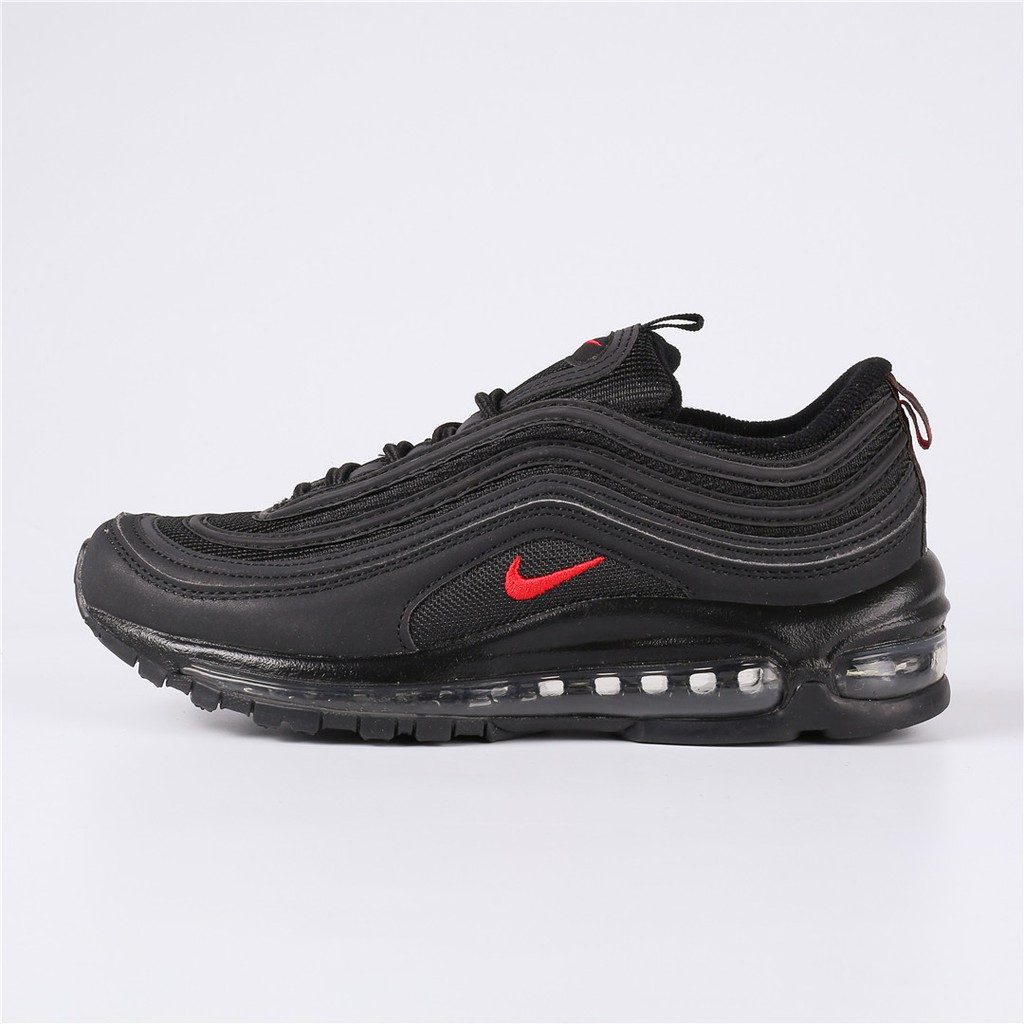 PurchaseNike Air Max 97 Cheap Nike Air Max 97 Black ChAllenge Red Shoes Hot Sale