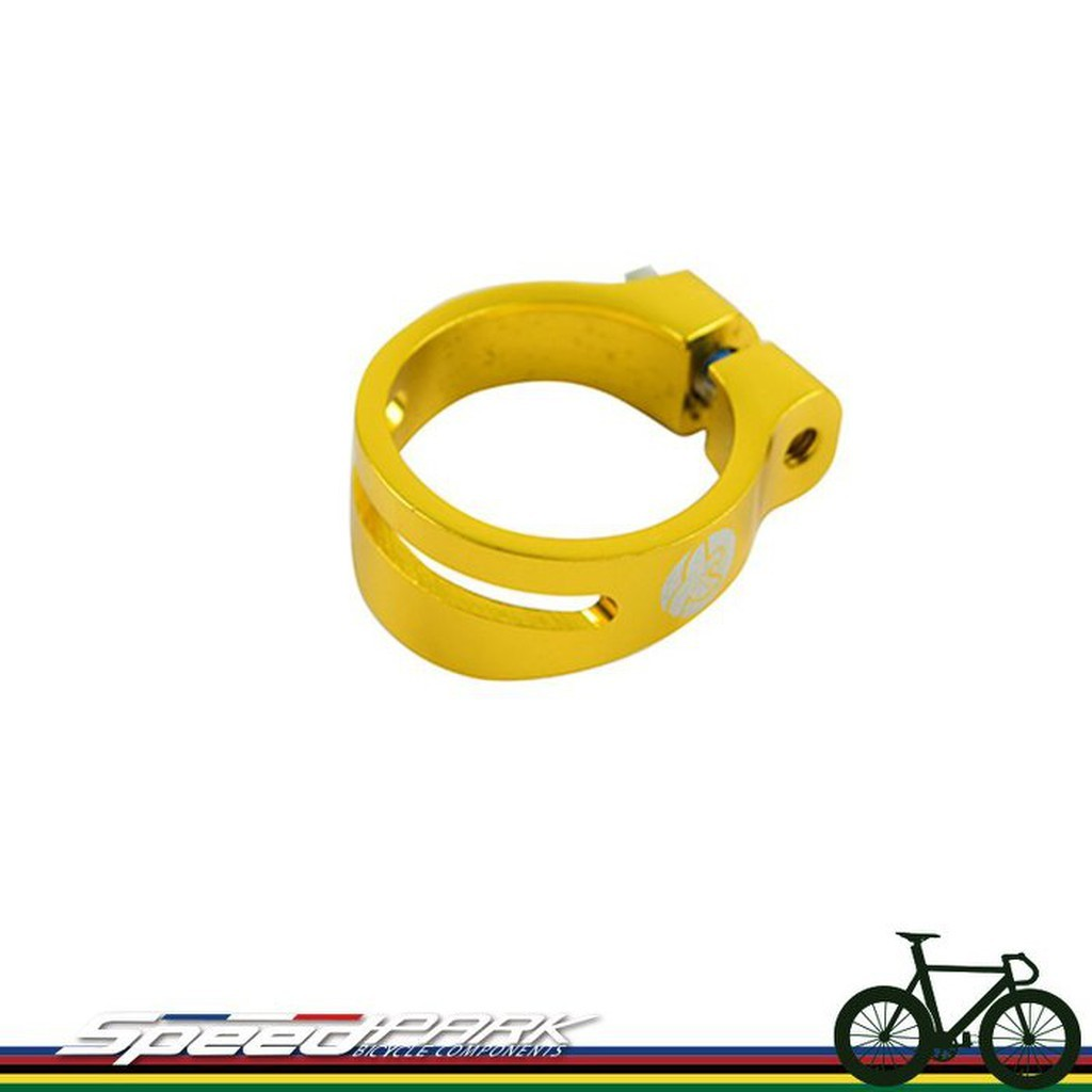 Speed Park circus monkey Al 7075 Aluminum Alloy Seat Tube Clamps 31 8mm Gold