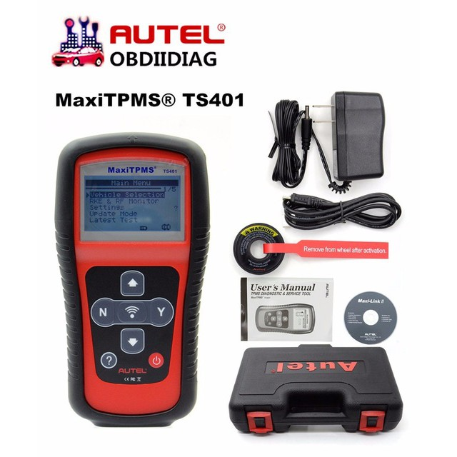 Autel MaxiTPMS® TS401 TPMS Diagnostic and Service Tool V5 22