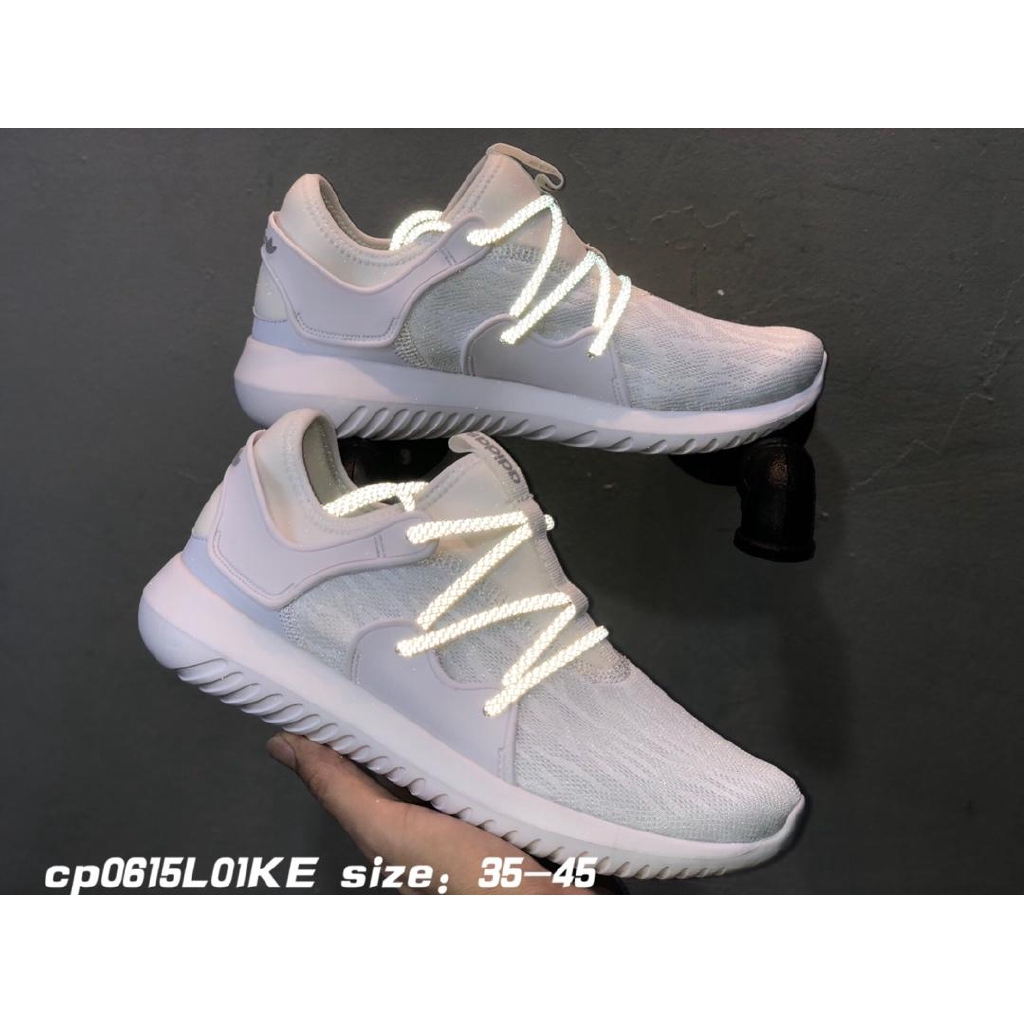official sold worldwide latest Adidas Tubular Viral Men and Women's Reflective Shoes Clover ...