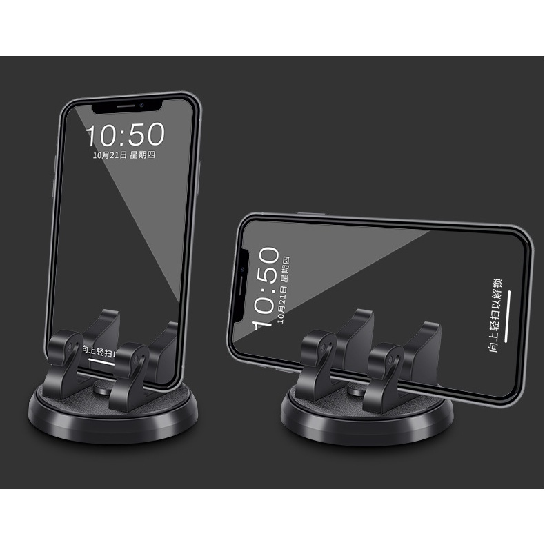 Car supplies temporary parking number plate, mobile phone holder plate, multi-function car holder with moving