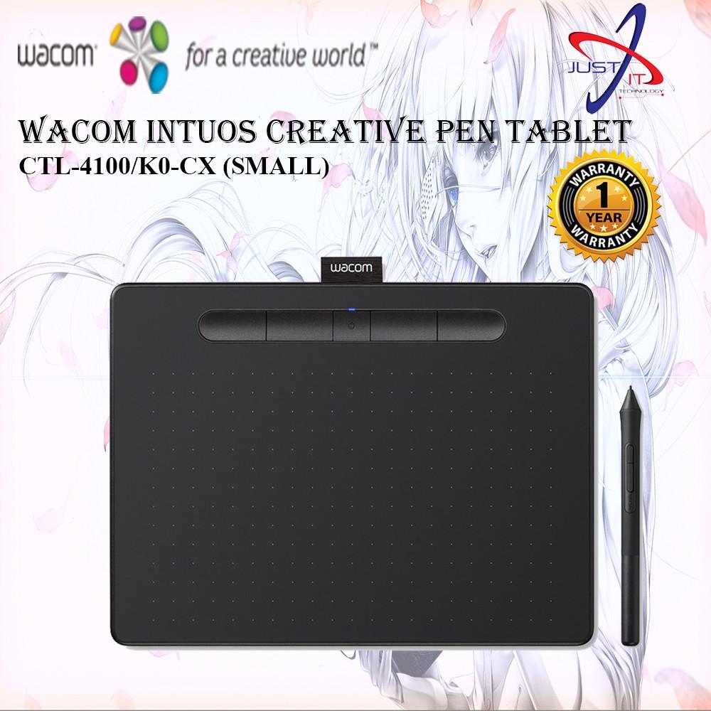 Wacom Intuos Small Creative Pen Tablet Black (CTL-4100/K0-CX))