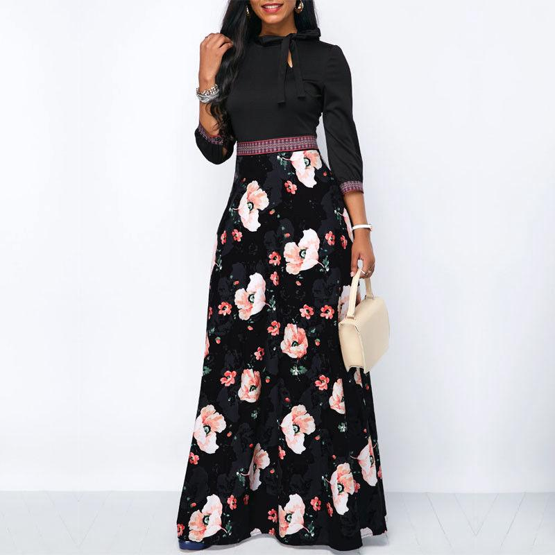 81dc36a3e8e89 Sherhure 2019 Women Linen Cotton Long Skirts Elastic Waist Pleated Maxi  Skirts Beach Boho Vintage Summer Skirts