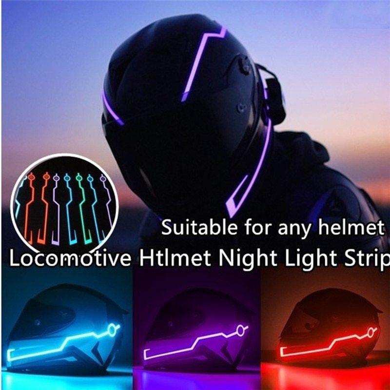 Motorcycle Helmet Light Led Light Strip