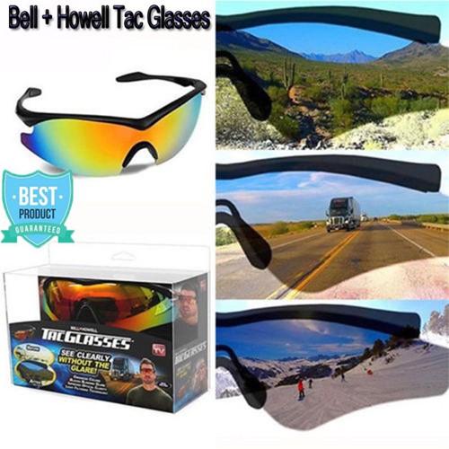 abdbb8673e Bell + Howell Tac Glasses Military PolarIized Sunglasses Glare Enhance  Colour
