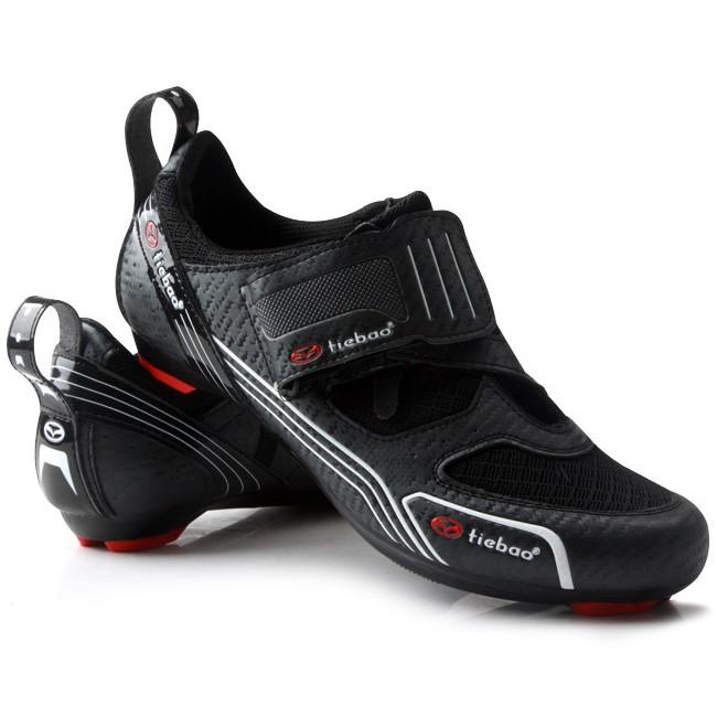 30f7e2c43810 Size 39-47 Outdoor Triathlon Cycling Shoes Fiberglass-Nylon Outsole Bicycle  Shoe