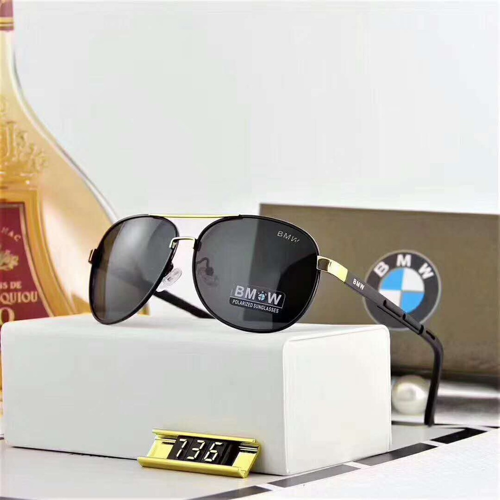 967c4a78eef 😎Ready Stock😎2018 NEW BMW BLACK KNIGHT Men Anti UV400 Polarized Sunglasses