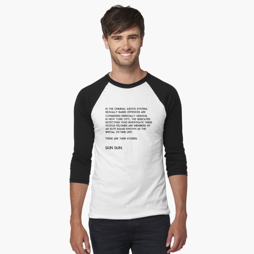 4cdd3411a9d Law & Order: Special Victims Unit T-Shirt 34 Colors