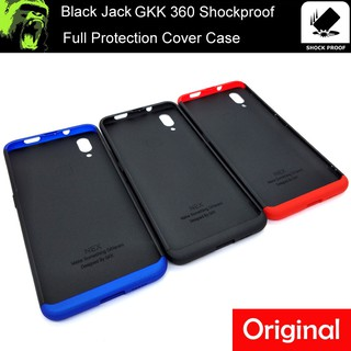 pretty nice d66eb 21375 Vivo Y71 / 1724 / Y71i / Official Black Jack 360 Shockproof Full ...